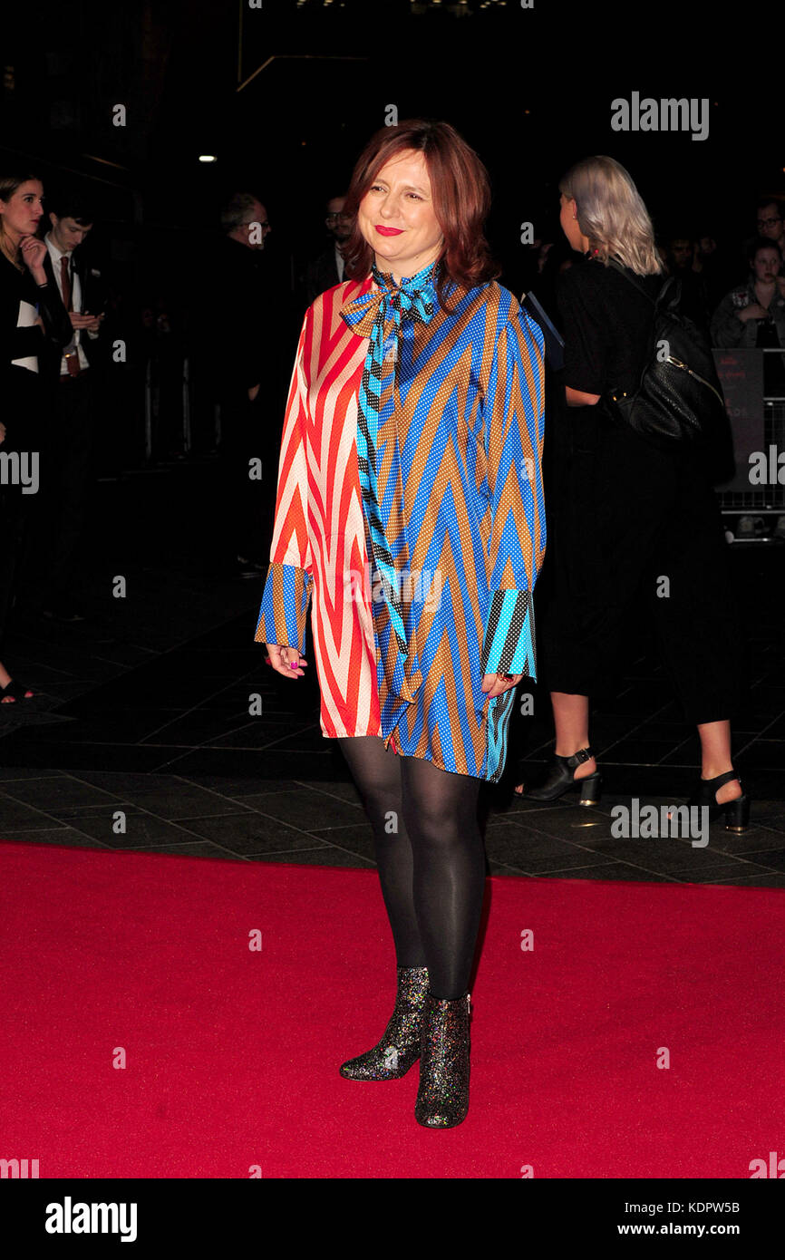 London, UK. 15th Oct, 2017. Clare Stewart attending the closing night Gala for BFI Film Festival at Odeon Leicester Stock Photo
