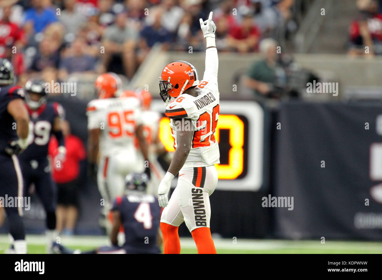 wholesale dealer 178dc 77d2e Houston, Texas, USA. 15th Oct, 2017. Cleveland Browns strong ...