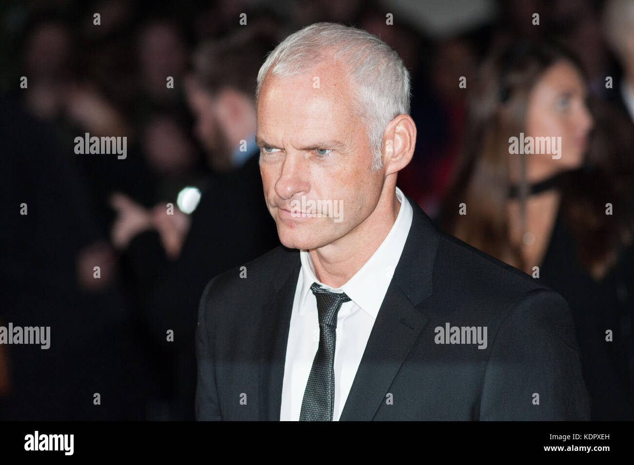London, UK. 15th October 2017. Martin McDonagh arrives for the UK film premiere of 'Three Billboards Outside - Stock Image