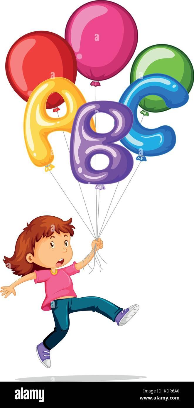 419530b01f0 Child Balloons Flying Stock Photos   Child Balloons Flying Stock ...