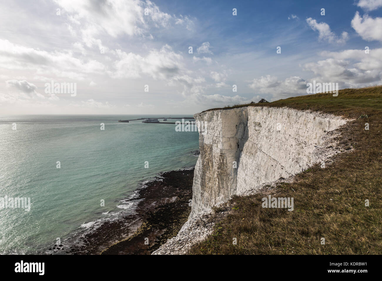 The White Cliffs of Dover - Stock Image
