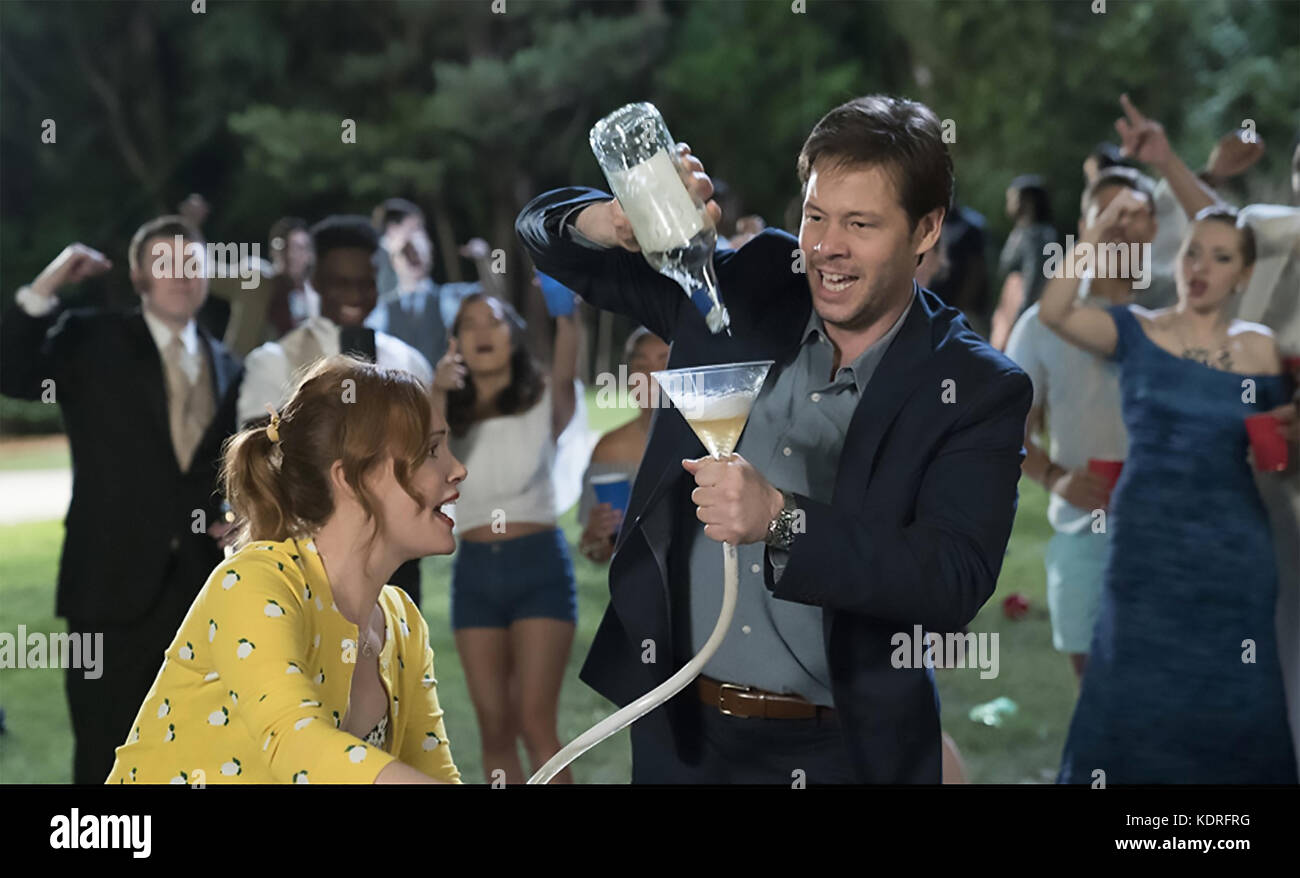 BLOCKERS 2018 Point Grey Pictures film with  Leslie Mann and  Ike Barinholtz - Stock Image