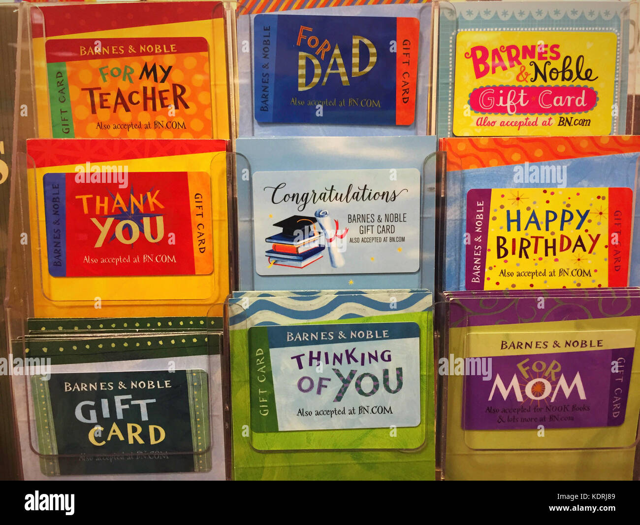 Gift Cards Display Stock Photos Gift Cards Display Stock Images