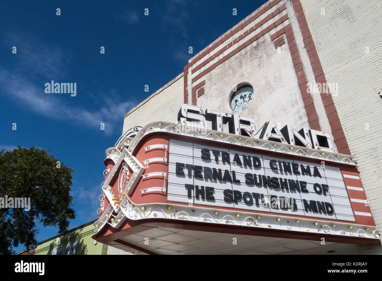 Strand Theater in Historic Georgetown, South Carolina, USA - Stock Image