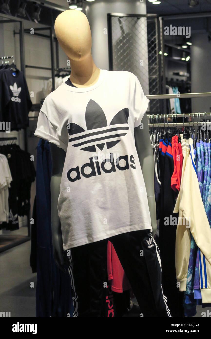 Adidas T Shirt Stock Photos   Adidas T Shirt Stock Images - Alamy ee34a8c58a8a0