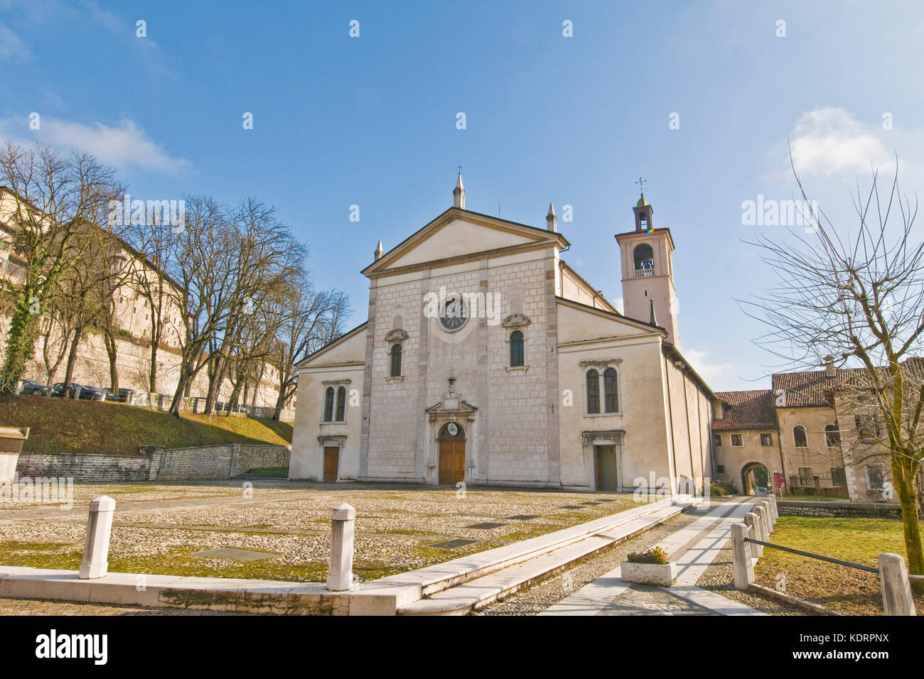 Cathedral, Feltre (Belluno, Italy) - Stock Image