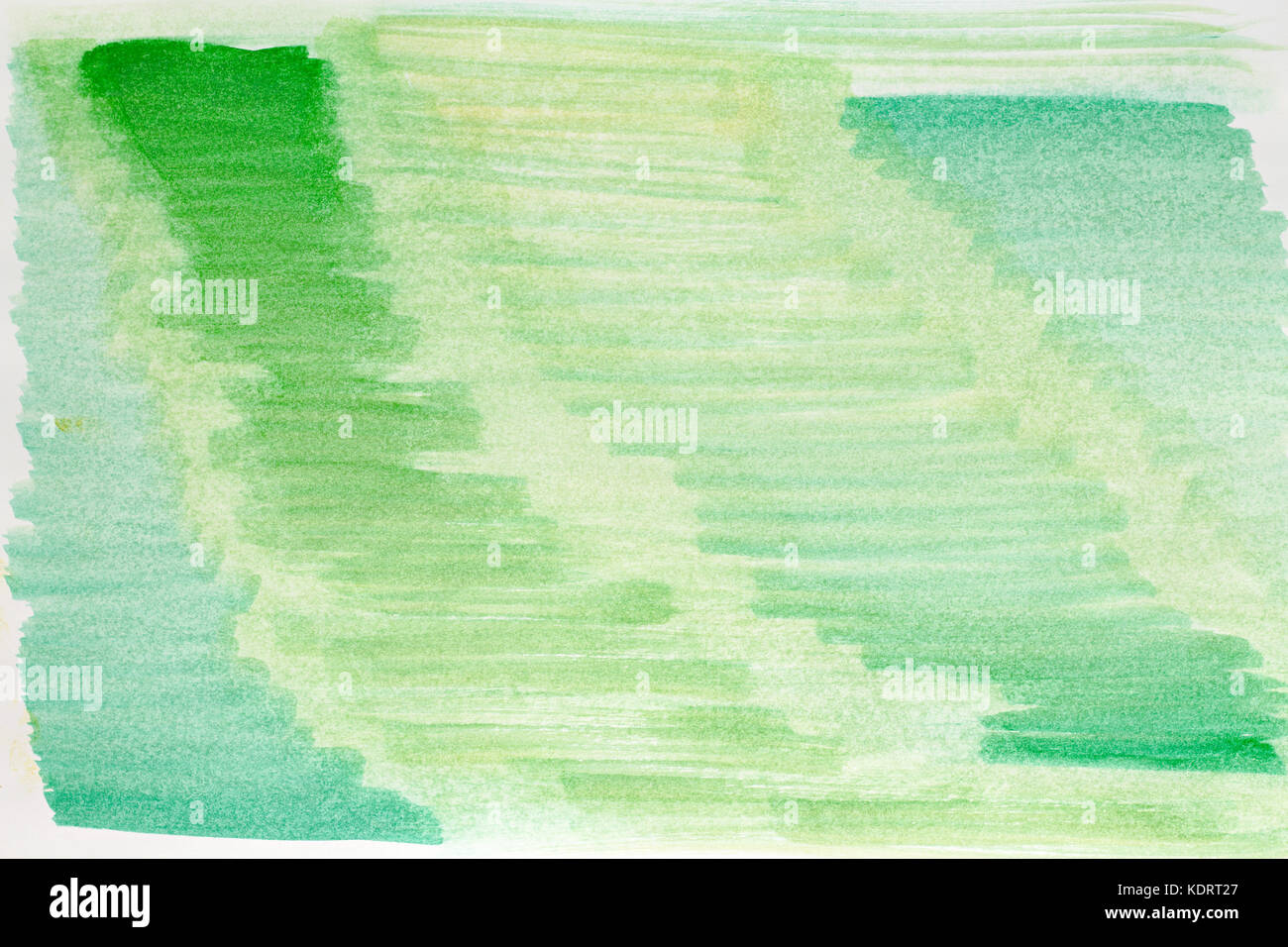 Abstract watercolor art hand paint green color, Watercolor Stock ...