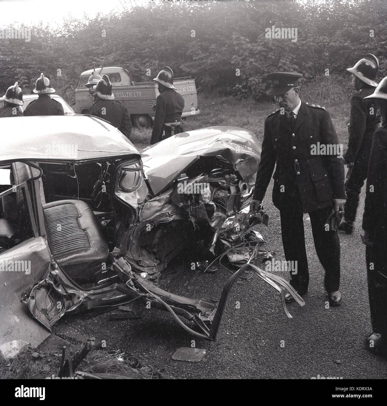 1960s British Police Car Stock Photos & 1960s British