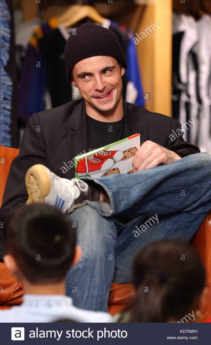 Matthew Goode reads the childrens book  If You Give A Mouse A Cookie  during 91f29245b