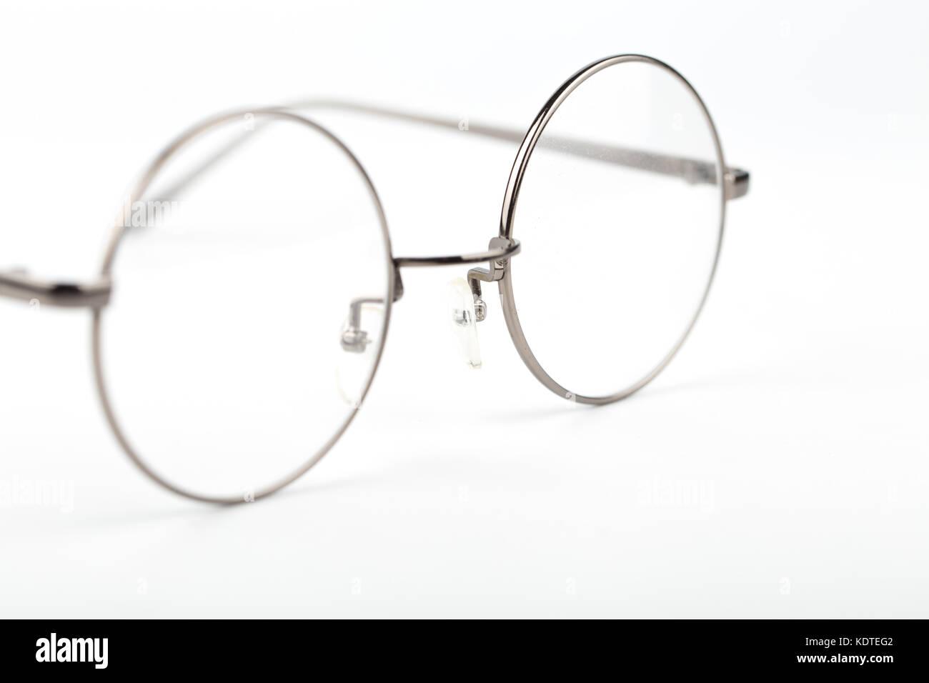 daf372f8f4ed3 Circle glasses Stock Photo  163422114 - Alamy