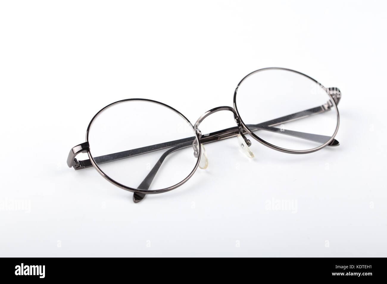 d79cf4d4c537f Circle glasses Stock Photo  163422141 - Alamy