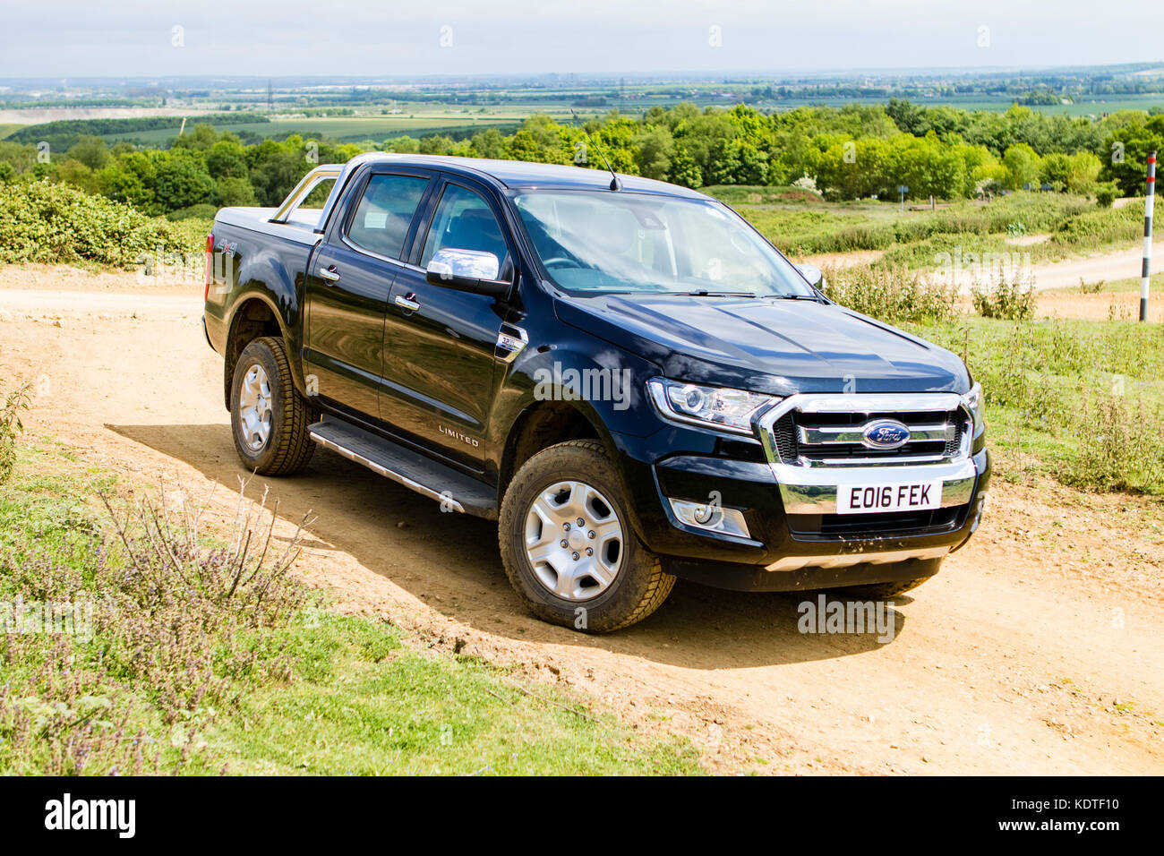 UK Spec Ford Ranger - Stock Image