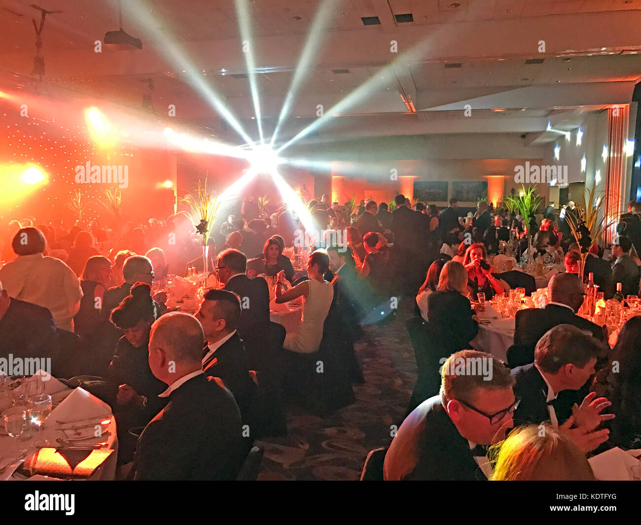 Awards Evening, Black Tie Stock Photo