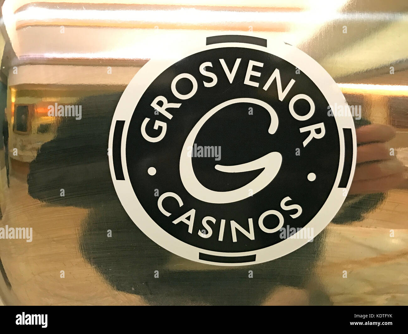 Grosvenor Casino Logo - Stock Image