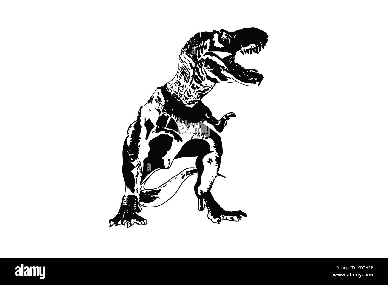 T Rex Dinosaur Ancient Animals Vector