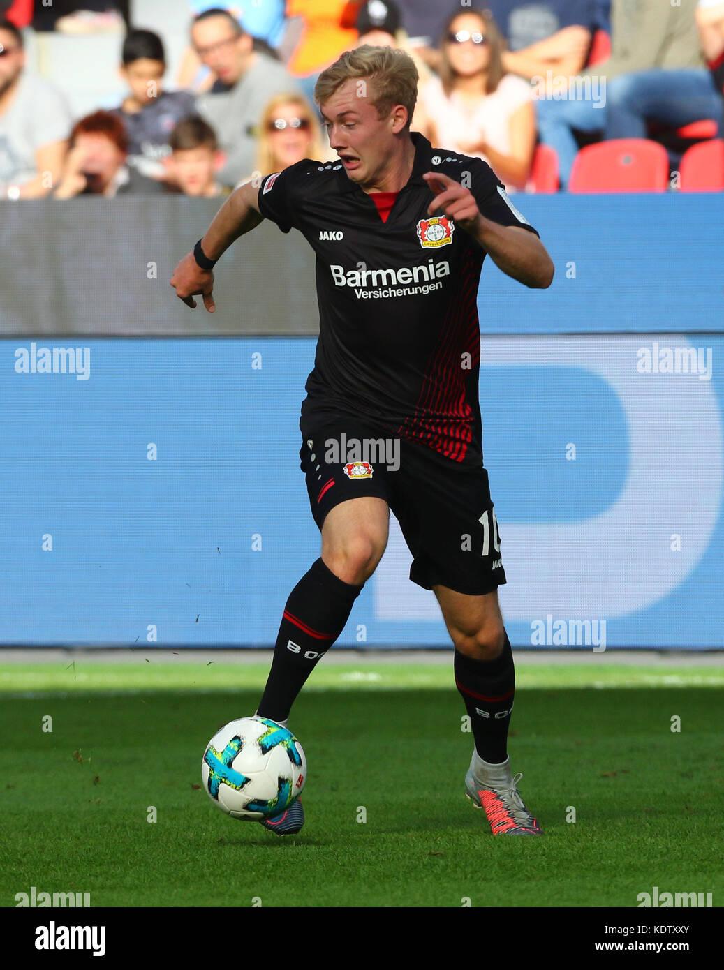 Leverkusen, Germany. 15th Oct, 2017. Leverkusen, Germany October 15 2017, Bundesliga matchday 9, Bayer 04 Leverkusen - Stock Image