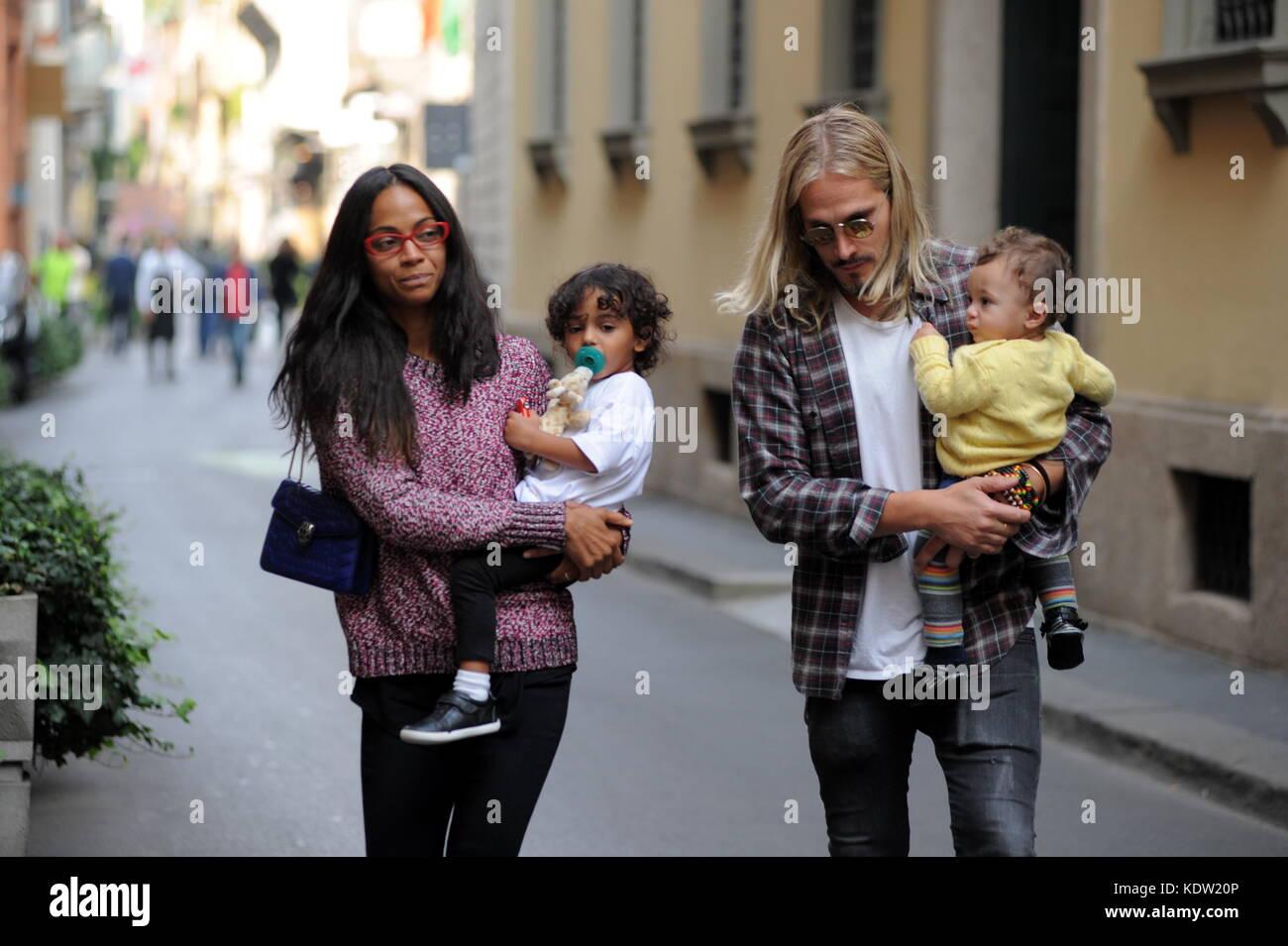 Milan, Zoe Saldana and...