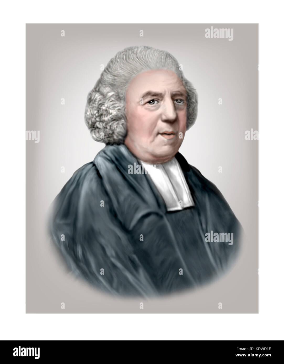 John Newton, 1725 - 1807, Anglican Clergyman - Stock Image