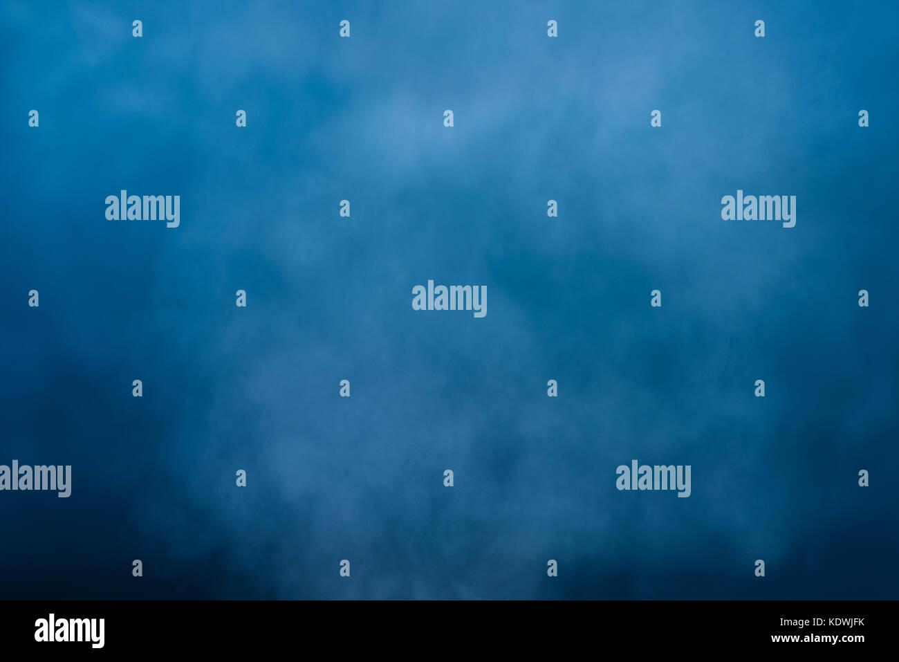 Abstract white water vapor on a blue background. Texture. Design elements. - Stock Image