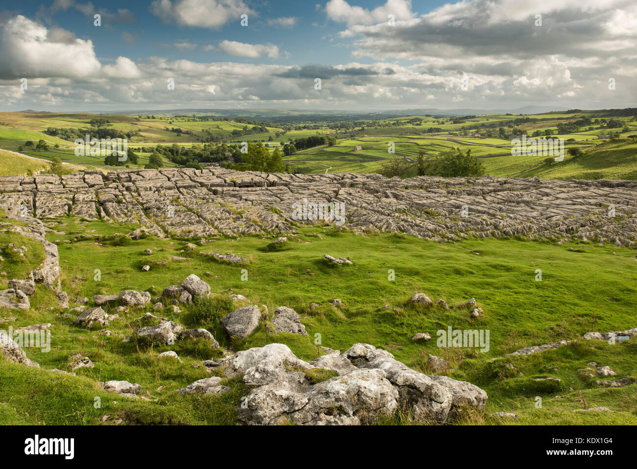 Malham Cove - Stock Image