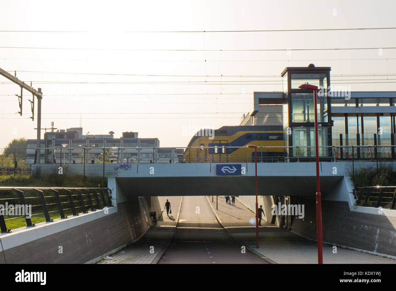 NS - trein - Stock Image