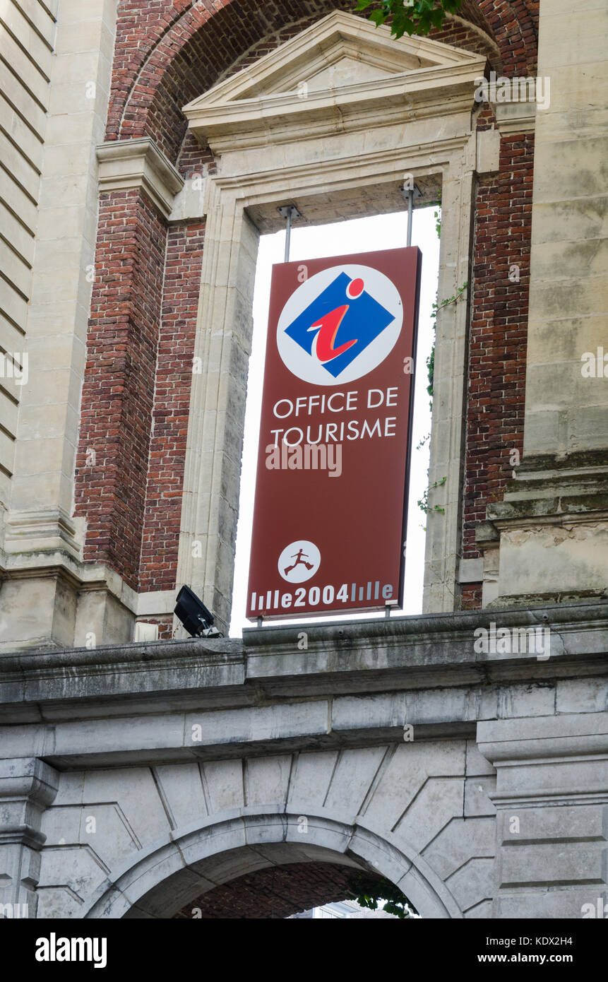 Office De Tourisme Or Tourist Office In The Northern France City Of