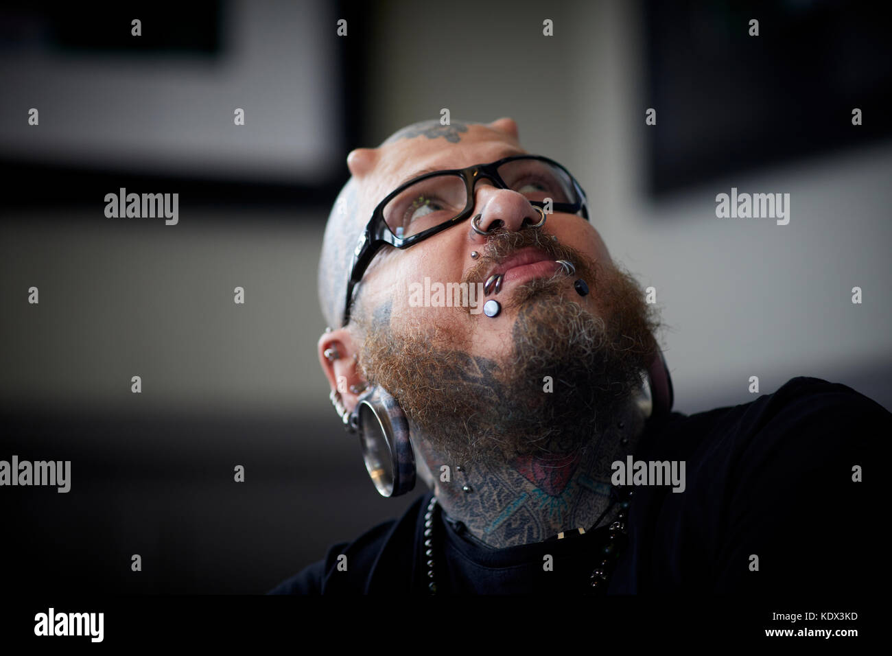 The Human Library - Body Modification - Stock Image