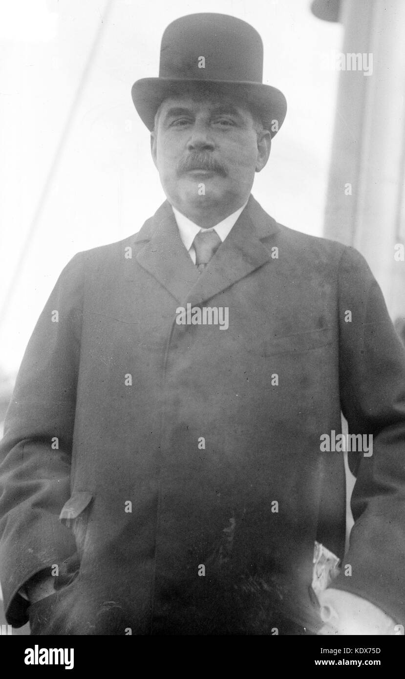 American banker and philanthropist John Pierpont 'Jack' Morgan, Jr. - Stock Image