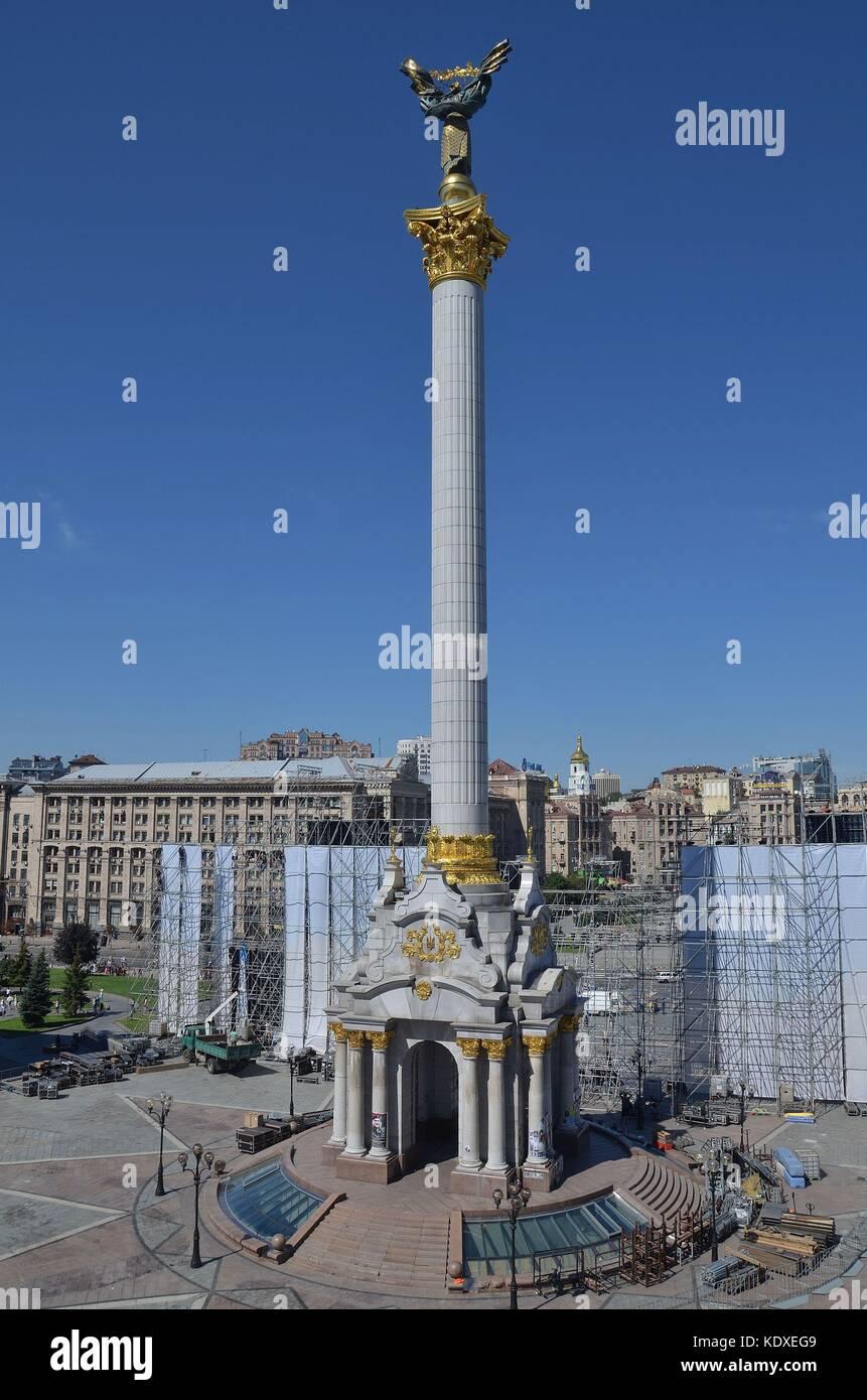 Kiev, die Hauptstadt der Ukraine - Stock Image