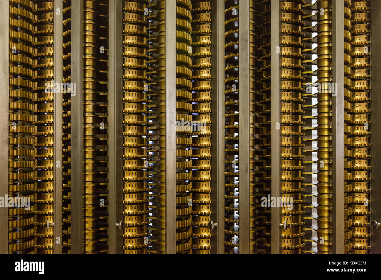 Difference Engine - Stock Image