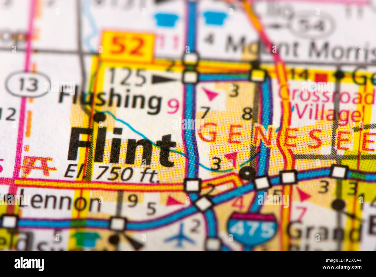 Michigan Map High Resolution Stock Photography And Images Alamy