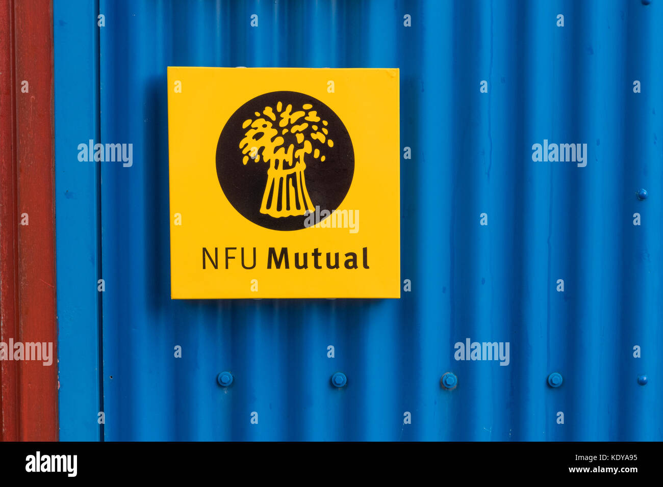 NFU Mutual, Lerwick, Shetland Islands, Scotland, UK - Stock Image