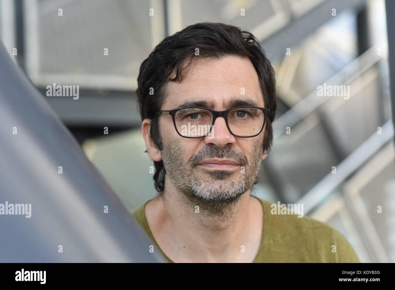 Nicol Ljubic at the 69th Frankfurt Book Fair in Frankfurt/Main, Germany, October 2017. | usage worldwide - Stock Image