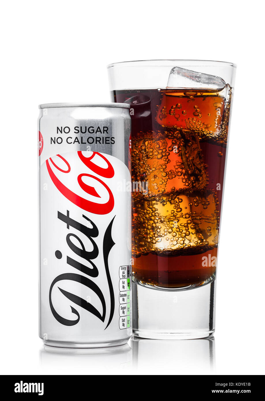 Glass Of Diet Coke High Resolution Stock Photography and Images ...