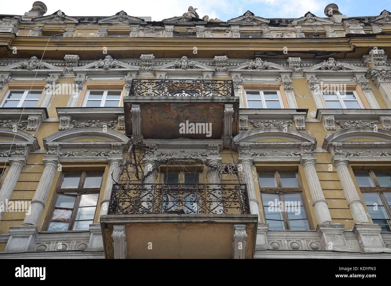 In der Innenstadt von Odessa, Ukraine - Stock Image