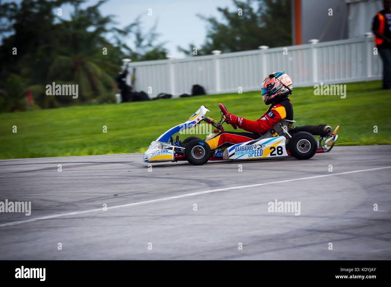 Barbados Festival Of Speed 2017; Bushy Park Racing Circuit; Bushy Park; St. Phillip; Barbados; Saturday 14th October - Stock Image