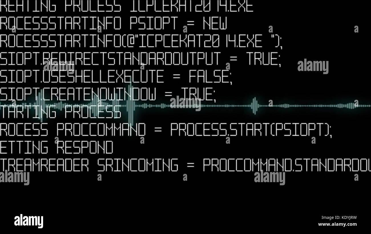 Program code on a monitor  Computer code, hacker  Software developer