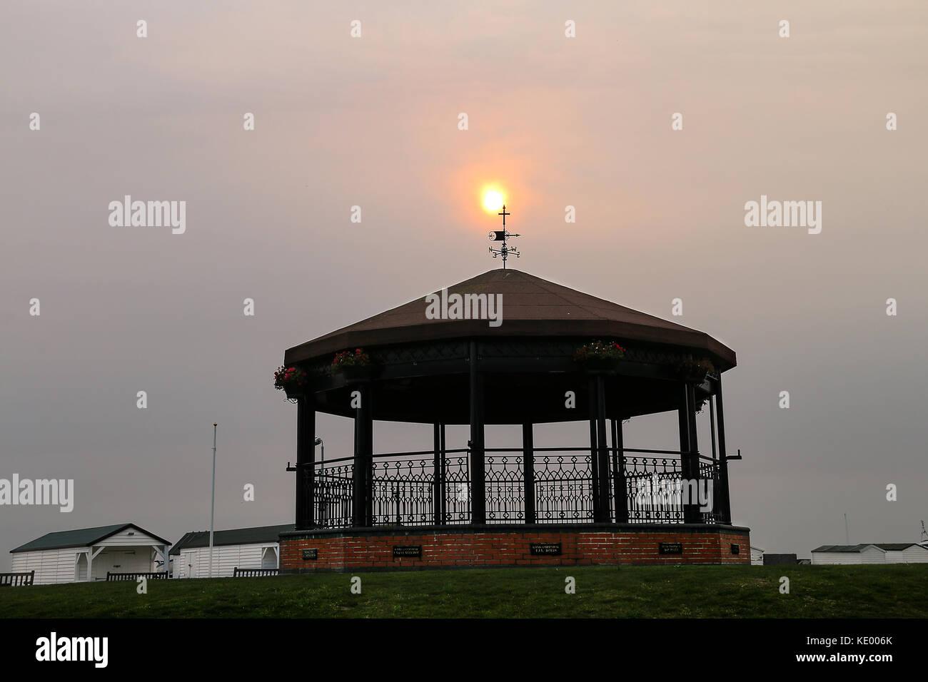 Mmeorial Bandstand - Saharan Sky - Stock Image