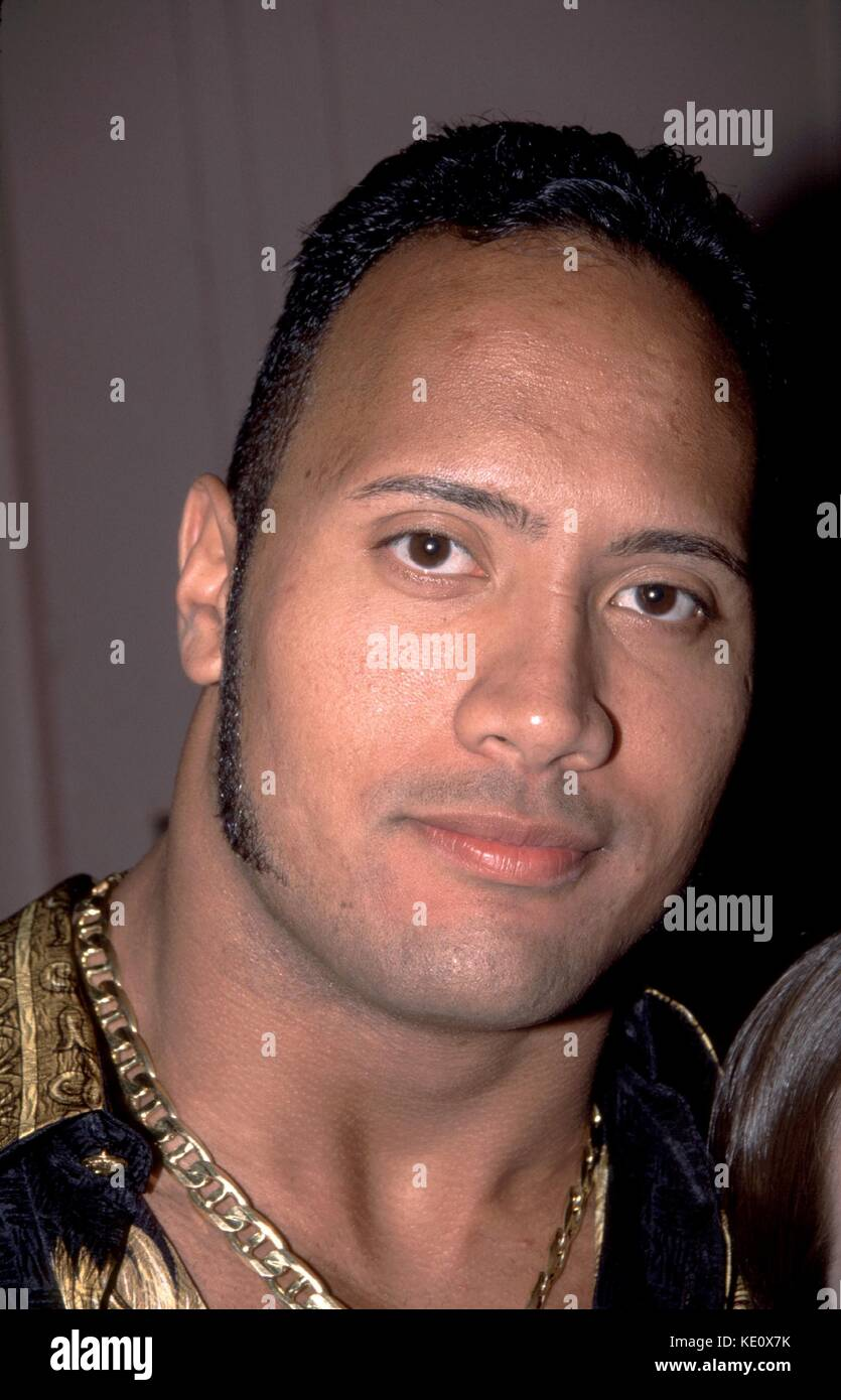 Dwayne Johnson The Rock Of The Wwf Upn Network Party