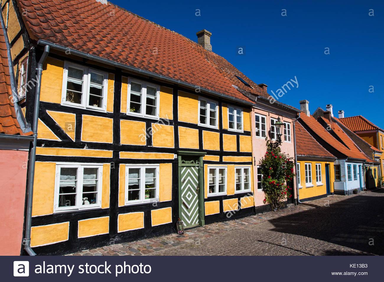 ærøskøbing, ærø, baltic sea, denmark / ærøskøbing, ærø, ostsee, - Stock Image