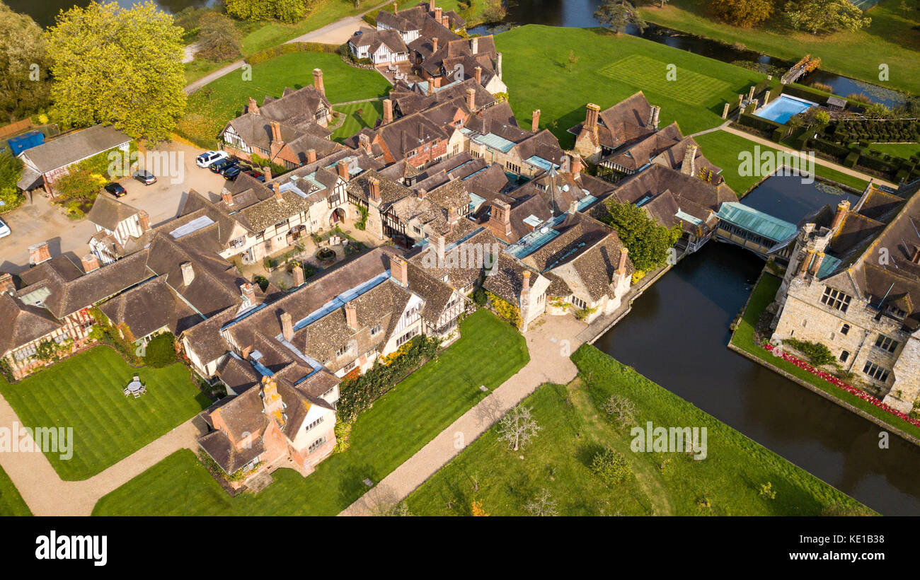 Hever Castle Bed and Breakfast, Hever Castle, Kent, UK - Stock Image