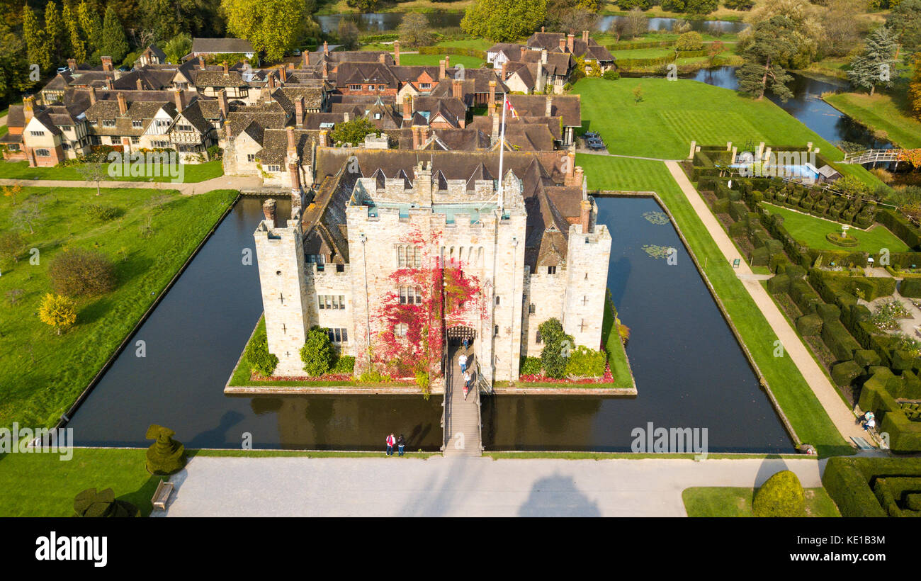 Hever Castle, Hever, Kent, UK - Stock Image