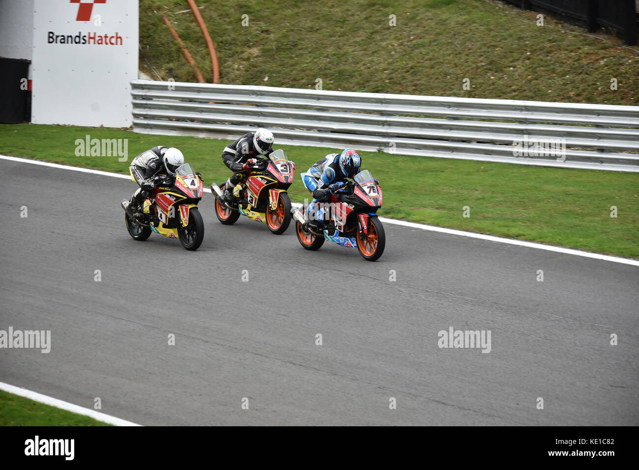 British Superbikes meeting KTM Cup - Stock Image