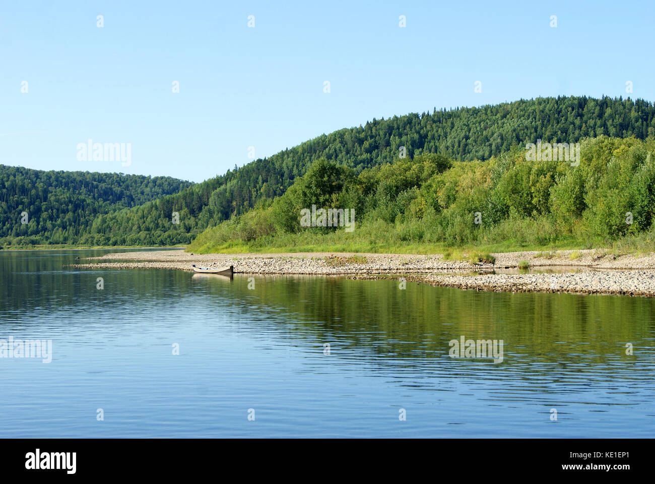 Fishing in Tchaikovsky. Perm Region, Tchaikovsky, the Kama River 5