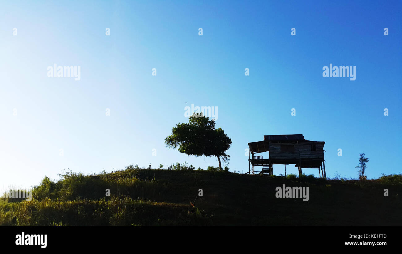 Home at the Hill - Stock Image