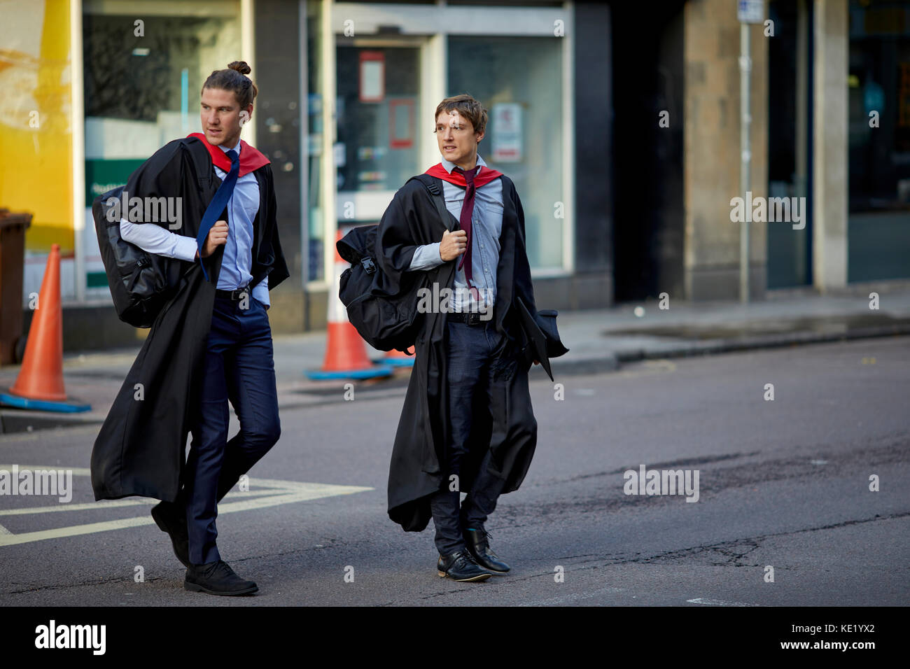 University gowns - Stock Image