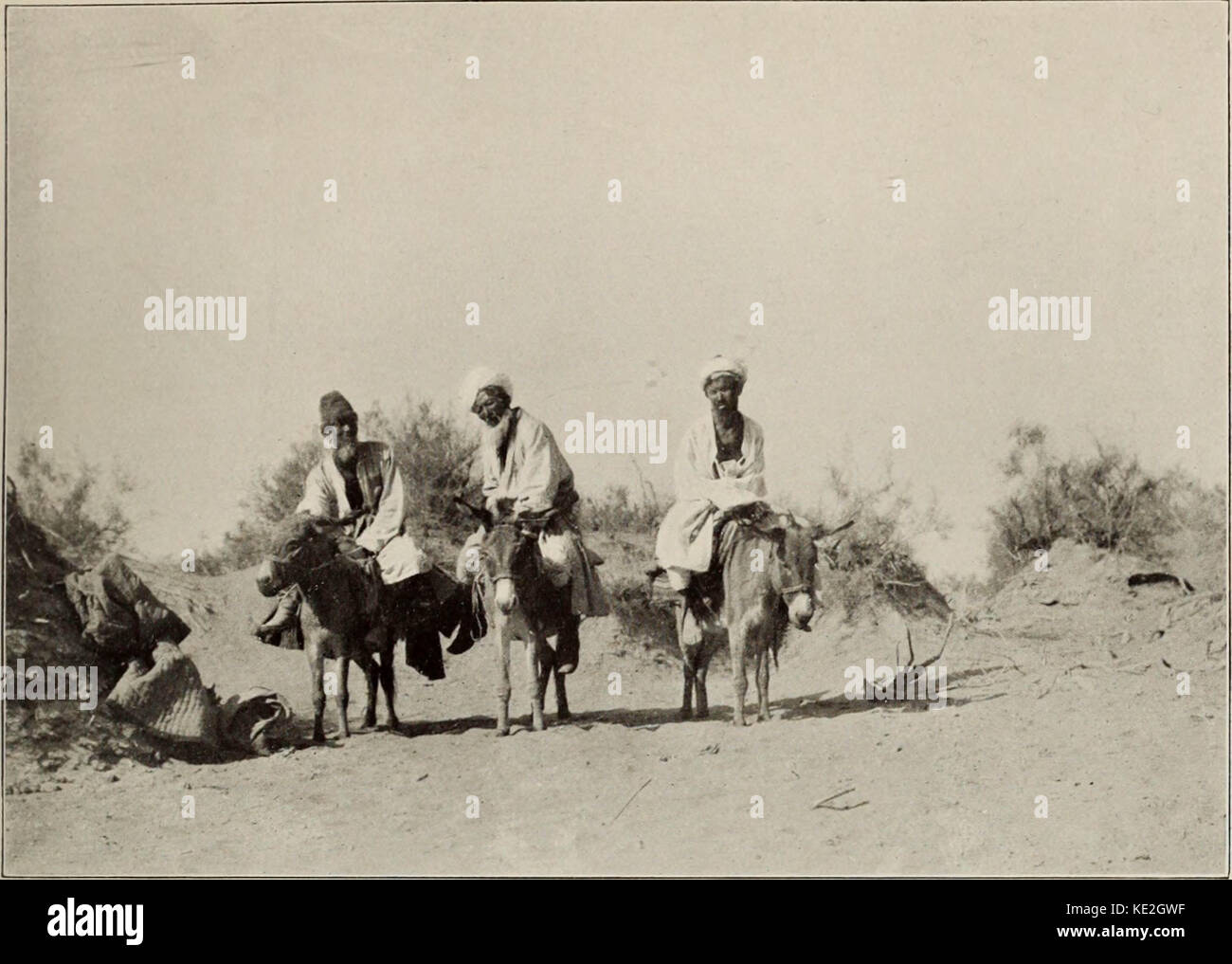 'Ruins of desert Cathay : personal narrative of explorations in Central Asia and westernmost China' (1912) - Stock Image
