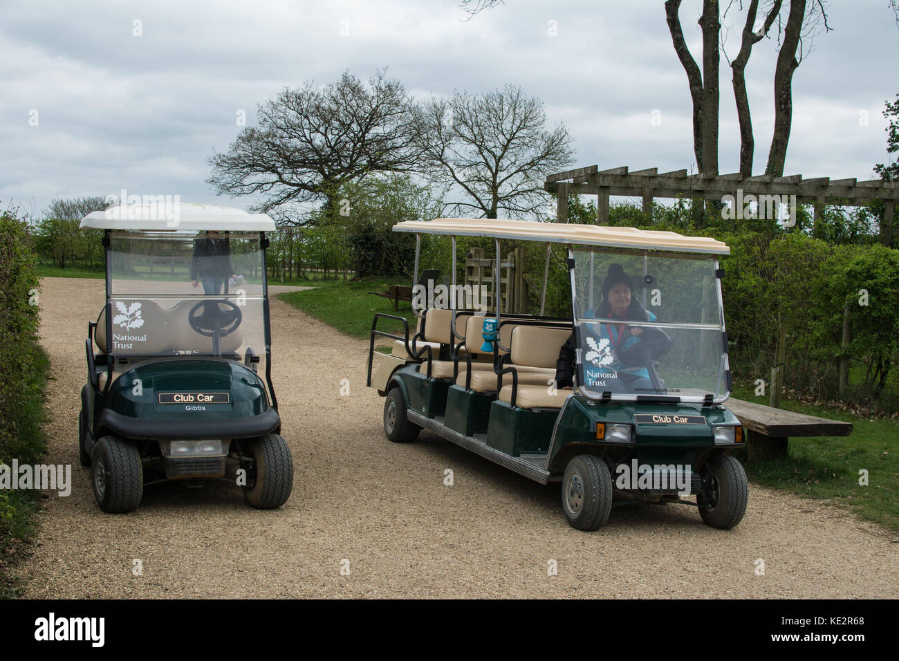 Golf buggy - Stock Image