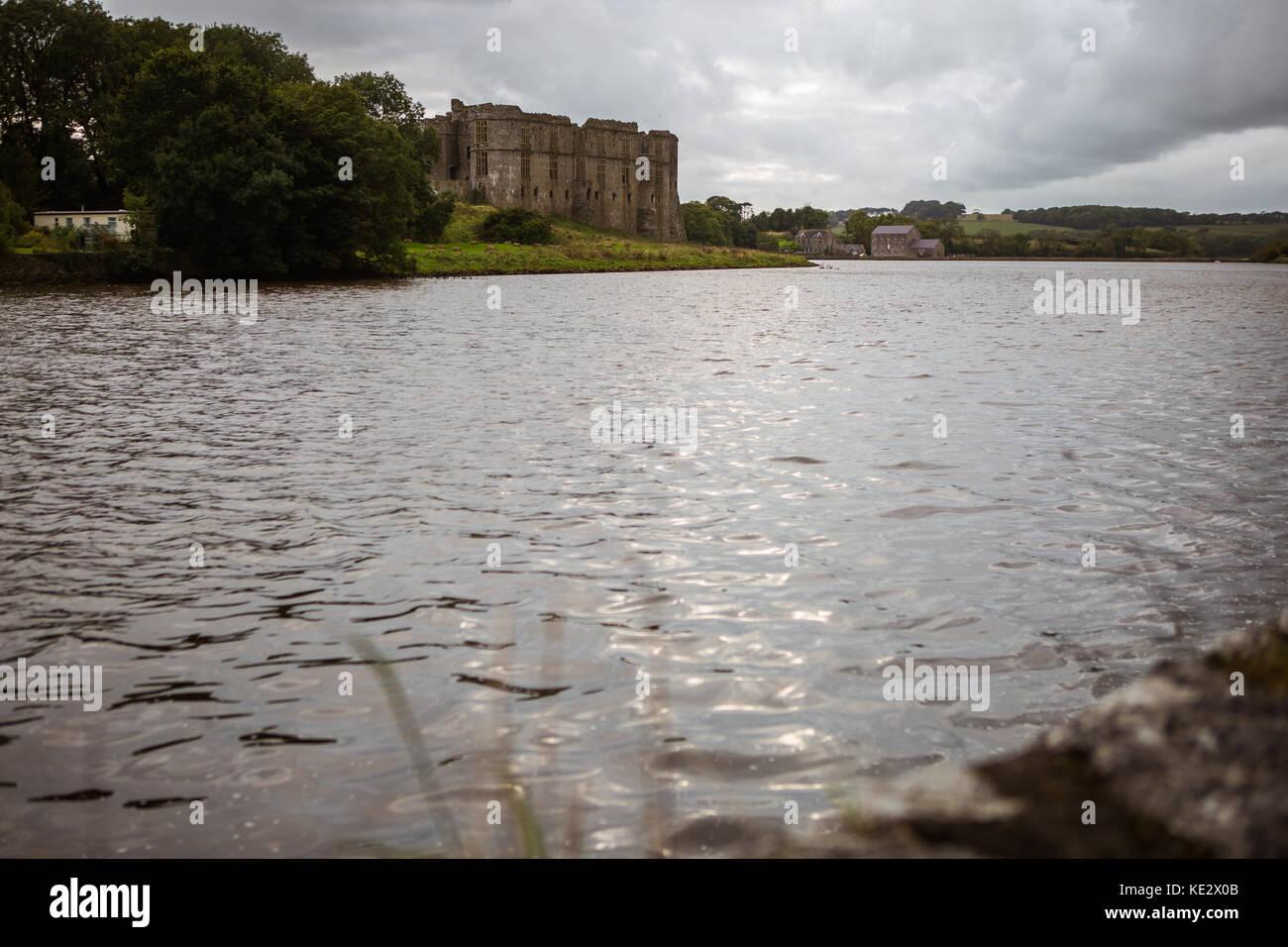 Carew Castle - Stock Image