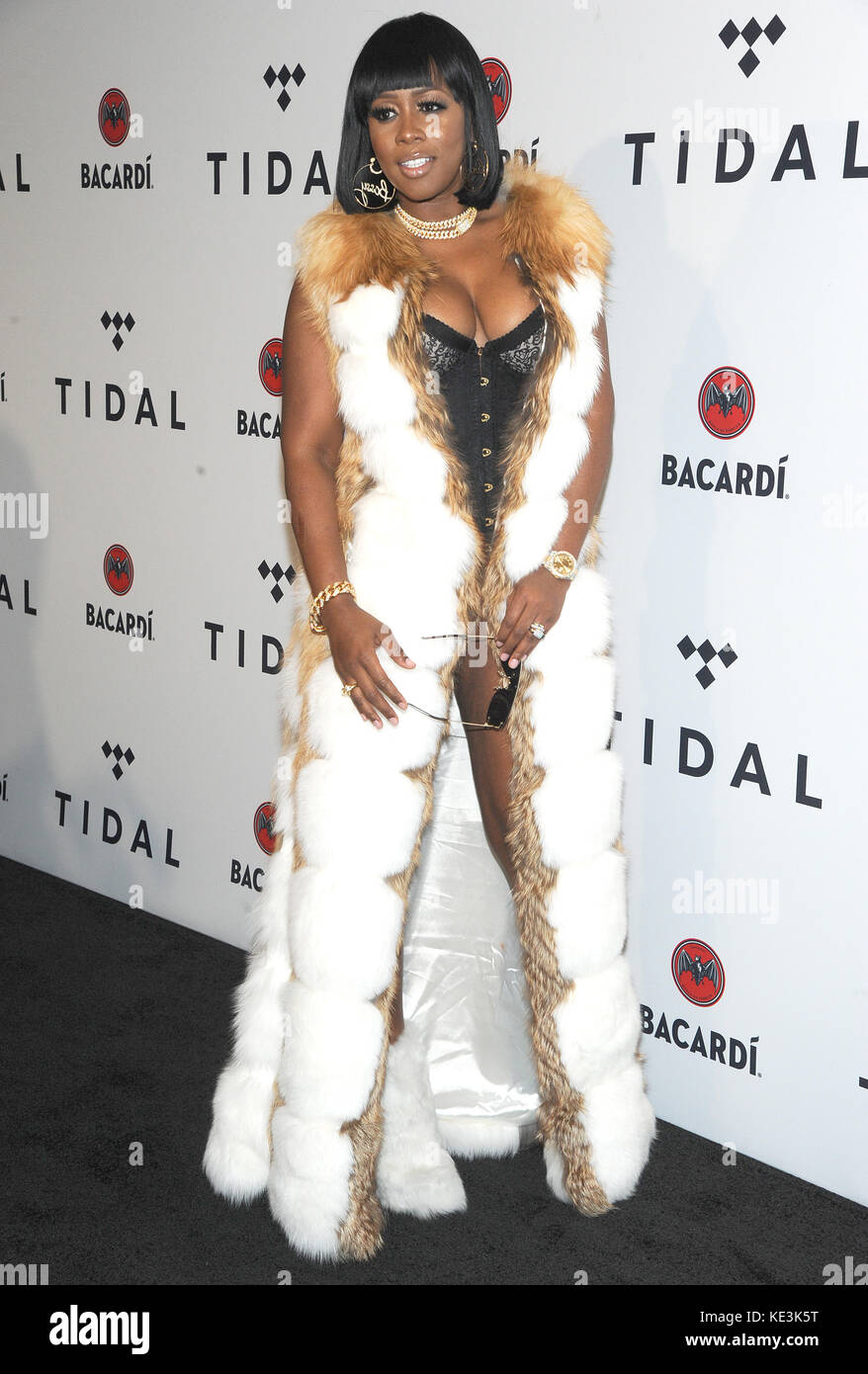 New York, NY, USA  17th Oct, 2017  Remy Ma attends TIDAL X